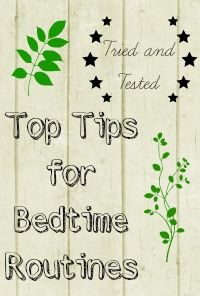 Top Tips for Children's Bedtime Routines