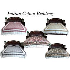 """""""Indian Cotton Bedspread"""" by mogulinteriordesigns on Polyvore"""