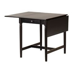 INGATORP Drop-leaf table - IKEA.  for the small breakfast area in our kitchen. pull out for kids when we have company for dinner.