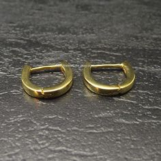 Mens Earrings Gold Hoop 14k Solid Medium By 360jewels 199 00 Jewelry Etc Pinterest Hoops And