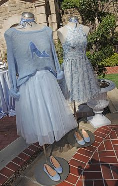 My favorite pieces were on display at my Cinderella DIY Blogger Luncheon.