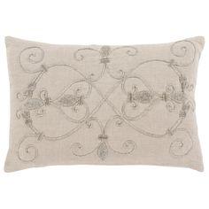 Surya Pauline Light Gray Decorative Pillow @LaylaGrayce