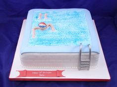 19 swimming pool cakesswimming. beautiful ideas. Home Design Ideas