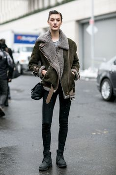 79 Incredible Model-Off-Duty Street Style Outfits From New York Fashion Week | StyleCaster