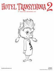Hotel Transylvania 2 Activities and Recipes | SKGaleana