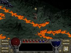 "1997: Hardware Acceleration, 2D games now increasingly use 3D effects, the video game in the image is called ""Diablo"" a RPG game which starting implant with 3D effects."