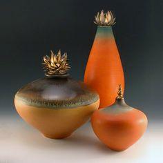 Squat Earth Tone: Natalie Blake: Porcelain Vessel - Artful Home