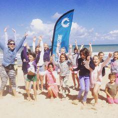 Chaque mercredi au Club Cabourg, c'est Zumba sur la plage pour les enfants !