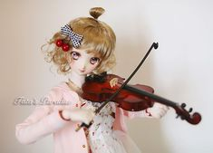 violin for your doll- Taobao Violin Case, Cheap Dolls, Bjd Dolls, Ball Jointed Dolls, Handmade Toys, Doll Accessories, Musical Instruments, Children, Music Instruments
