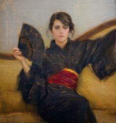 American Artist, American Painter, Paintings, Oil paintings, U.S., Figurative, Figurative Painter, Nude, Ladies, Portrait Paintings, woman paintings,