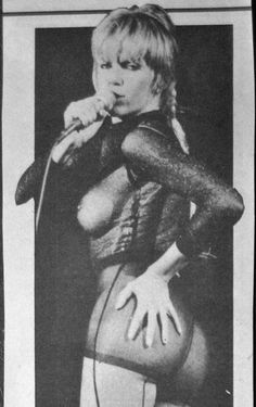 Wendy O. Williams of the Plasmatics!! RIP