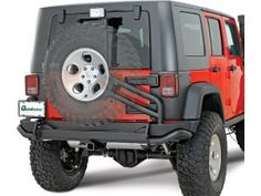 AEV Rear Bumper Tire Carrier stores up to 2.3 gallons of water inside