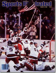"""United States Hockey - 1980 Olympics """"Miracle on Ice""""."""