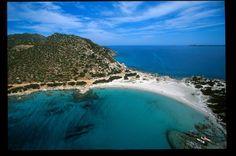 Wonderful view of Punta Is Molentis Beach | Villasimius, Sardinia