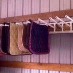 PVC+Saddle+Pad+Wall+Rack