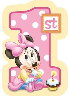 Birthday Invitation Sample, Minnie Mouse Birthday Invitations, Minnie Mouse First Birthday, Kids Birthday Party Invitations, Kids Birthday Cards, Invitation Wording, Invitation Ideas, Baby Mickey Mouse, Minnie Mouse Template