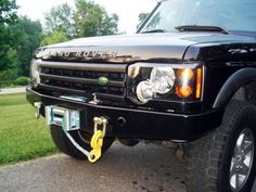 WINCH BUMPER TERRAFIRMA DISCOVERY II, TF009A, disco 2 front bumpers - Rovers North - Classic Land Rover Parts