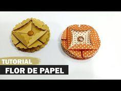 Como fazer flor de papel | Tutorial | PAP - YouTube