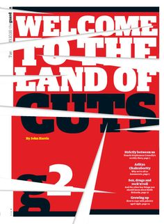 Guardian G2 cover: Land of the cuts.