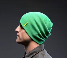Gorro invierno Sensitive green