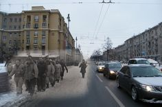 WWII Germany - Then and Now