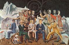 1922 au rendez-vous des amis, max ernst