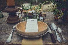 Idée déco de table mariage viking