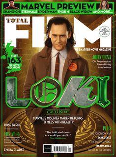 #Loki #TomHiddleston Total Film Magazine Issue 312 (May 2021) Loki Tv, Loki Marvel, Thor, Teaser, Must Be Heaven, Film Script, Plus Tv, Movie Magazine, Disney Plus