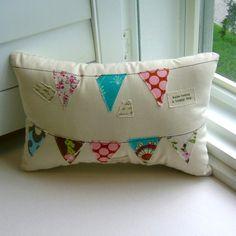 Pillow, Pennant Pillow,