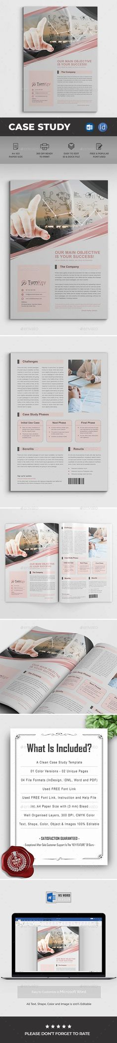 Buy Case Study Word by DesignDevisers on GraphicRiver. Case Study Template This Modern and Clean Caste Study Template will give you a sample structure for your case study. Case Study Template, Content Marketing Strategy, Copywriting, Understanding Yourself, Brochure Template, Problem Solving, Presentation, Challenges, Success