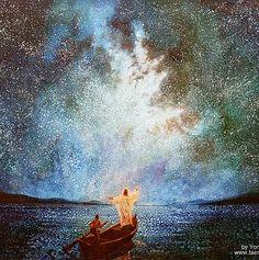 yongsung kim painting, jesus picture, Religious art, biblical art
