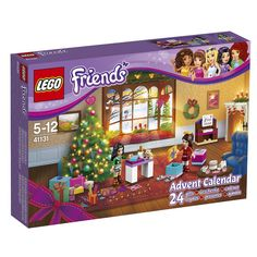 LEGO Friends - Advent Calendar 2016 and thousands more of the very best toys at Fat Brain Toys. Count down to a LEGO® Friends Christmas this December! Build a holiday party scene in a cozy home, with a new piece to add eve. Lego Advent Calendar, Advent Calenders, Toys R Us, Legos, Lego Friends Sets, Buy Lego, Lego Lego, Lego Craft, Lego Batman