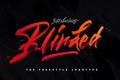 Blinded Freestyle Logotype  #zeppole #so_fuckin_sweet #logo #design #identity #packaging #branding #marketing #vintage #retro #handletter #лого #дизайн #бренд #упаковка #винтаж #ретро