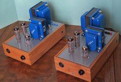 DIY Audio Projects - Hi-Fi Blog for DIY Audiophiles: Push-Pull EL84 Mono Block Amps