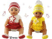 You searched for H - LastStepPin Girl Doll Clothes, Doll Clothes Patterns, Barbie Clothes, Clothing Patterns, Girl Dolls, Baby Dolls, Crochet Clothes, Crochet Hats, Barbie Dress