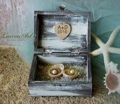 Wedding Ring Bearer Pillow Box Ring Holder Boho Wedding Bohemian