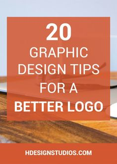 Looking to design a banging logo? Here are 20 Graphic Design Tips For a Better Logo. Click through to learn more.