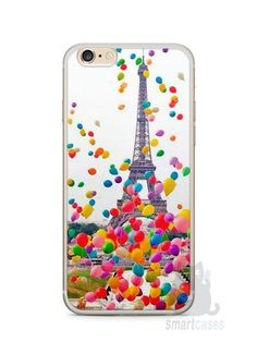 Capa Iphone 6/S Plus Torre Eiffel e Balões Capas Iphone 6, Capas Samsung, Iphone 4, Iphone Cases, Samsung A5, Samsung Galaxy, Capa Iphone 6s Plus, Pasta, Wall