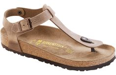 Kairo Tobacco Oiled Leather Birkenstock Sandals. Must have.