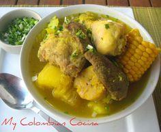 """Sancocho Trifasico """"Tres Carnes"""" Colombia, cocina, receta, recipe, colombian, comida."""