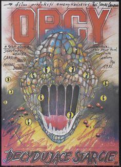 ALIENS (Dir. James Cameron, 1986) Polish poster
