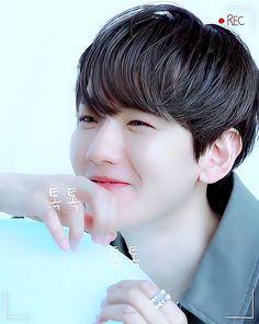 edit | cre.tenten_0408 #백현 #BAEKHYUN ❤️💗💖💞💓 Exo Songs, Ji Chang Wook, Exo K, Chanbaek, Korean Singer, Chanyeol, Got7, Bacon, Funny Stuff