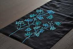 modern table linens - Google Search