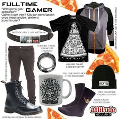 Full time gamer fashion #OOTD #WTW #Gamer www.attitudeholland.nl
