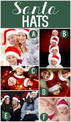 Lots of Fun Christmas Card Photo Prop Ideas