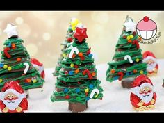No Bake KitKat Christmas Trees – The Organised Housewife