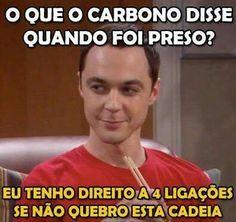 Humor inteligente...Bem Sheldon Cooper