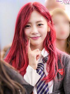 Jiu Dreamcatcher Wallpaper, Jiu Dreamcatcher, South Korean Girls, Korean Girl Groups, Kim Min Ji, Our Girl, Pretty Woman, Red Hair, Dream Catcher