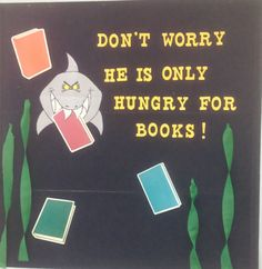 Children's Department, Shark Week, St. Albans Branch Library, Kanawha County, WV