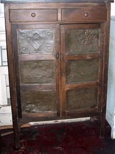 Image Result For Vintage Punched Tin Screen Panel Punched Tin Tin Ceiling Tin Tiles